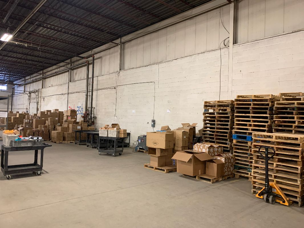 Warehouse at 400 & 401 - 500- 18,000 square feet available
