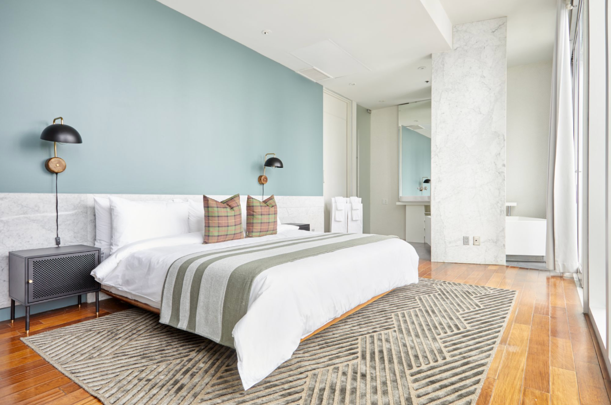 Dramatic Room at The Slate, a Boutique Hotel in the Heart of Toronto