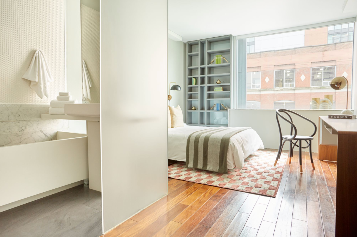 Chic Room at The Slate, a Boutique Hotel in the Heart of Toronto