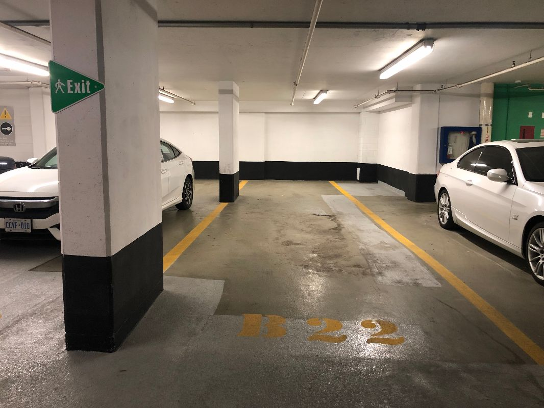 Downtown Tandem Underground parking spot