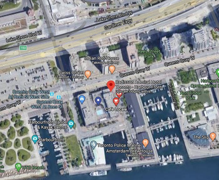 Indoor Parking at the Harbourfront Area (Radisson Admiral)
