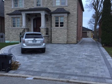 Outdoor driveway 1 min walk from Downsview Station.