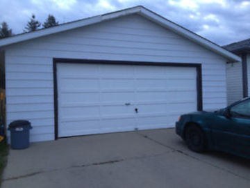 Double Car Garages in Millwoods