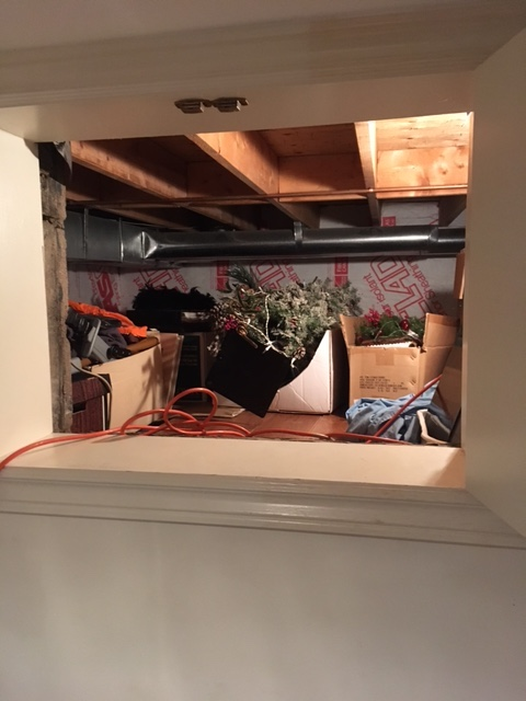 Secure garage and dry crawlspace available