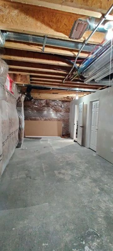 Basement space available