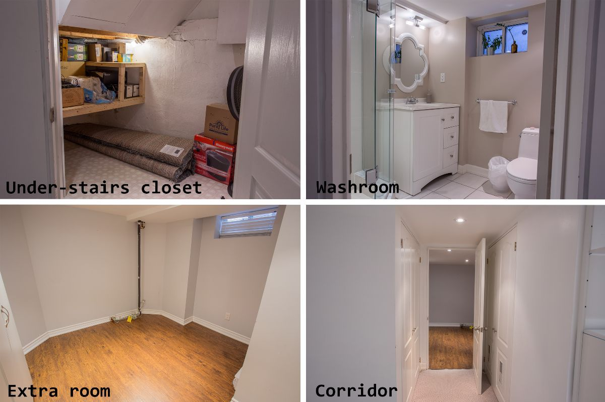 Fully furnished basement in Midtown Toronto