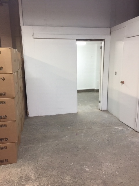 400sqft space with private office and storage space