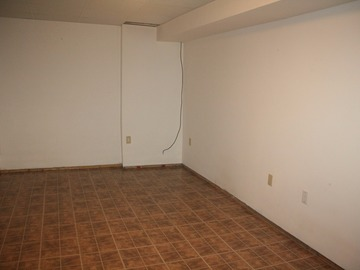 Basement storage in South Ajax house