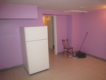 Storage Space Available in Basement of Our property