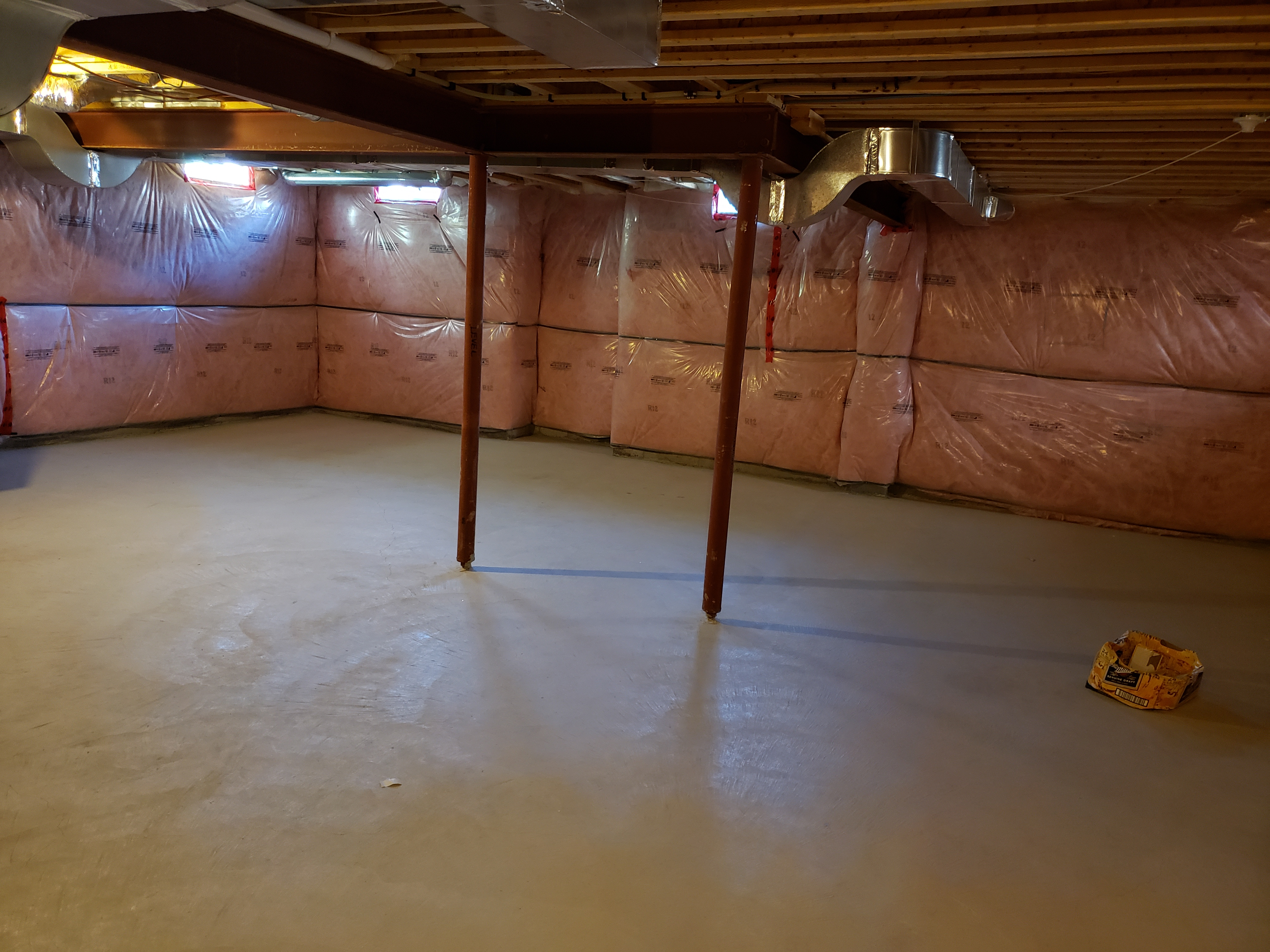 huge basement for storage with full access