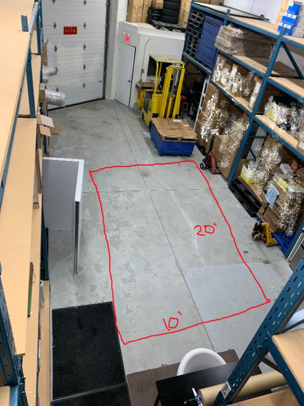 Warehouse space sharing, can access 24/7 by FOB