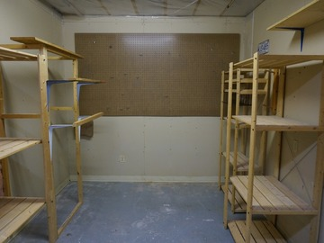 100 sq ft storage in basement of Stouffville home